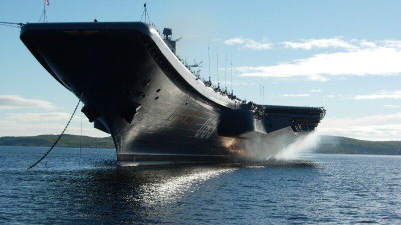 В России построят тяжёлый атомный авианосец