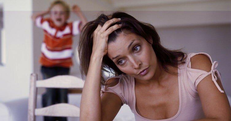 Отчего ваша жена не в себе от стресса