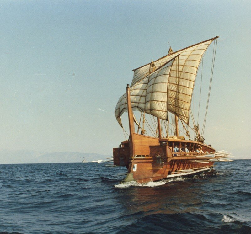 Флот Древнего Рима