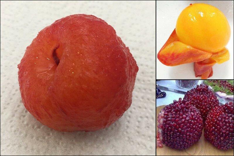 """13 """"откровенных фото"""" фруктов и ягод, которые обычно никто не чистит"""