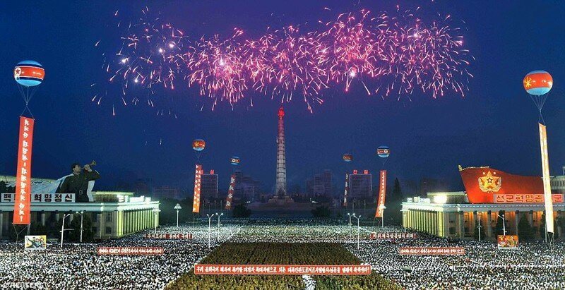 Северная Корея отпраздновала запуск первой межконтинентальной баллистической ракеты