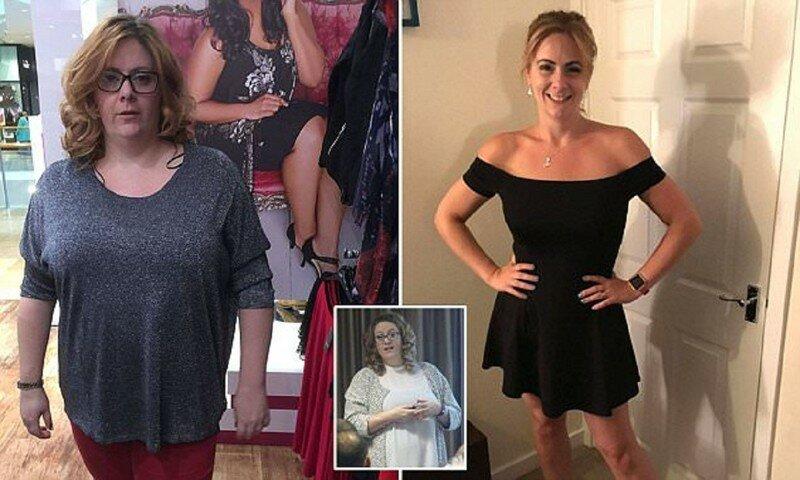 Англичанка похудела на 40 кило, отказавшись от фаст-фуда