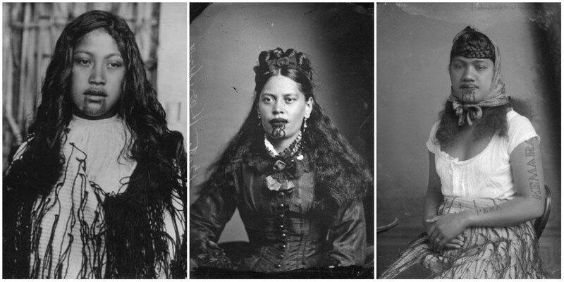30 невероятных портретов женщин маори с их традиционными татуировкам