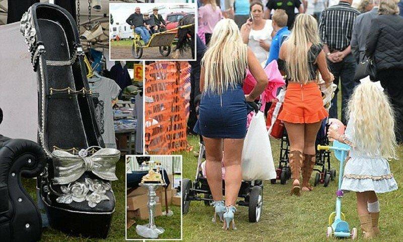Чудеса крупнейшей в Британии цыганской ярмарки