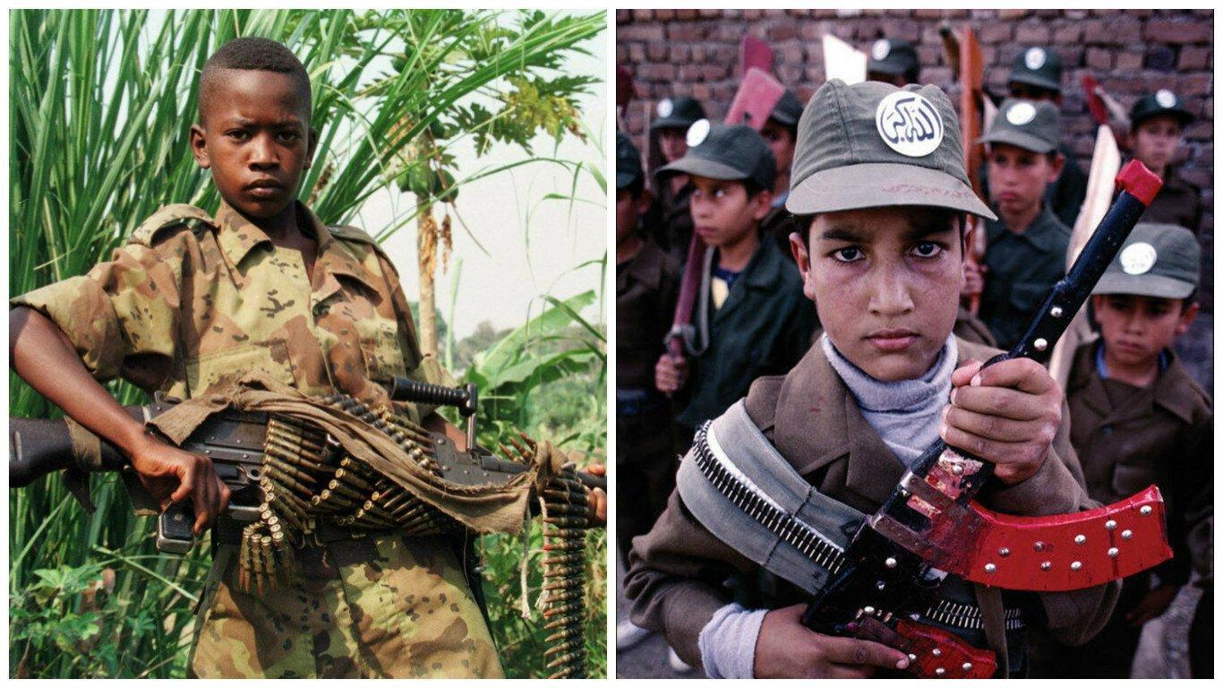 Дети-солдаты. Юные рабочие войны