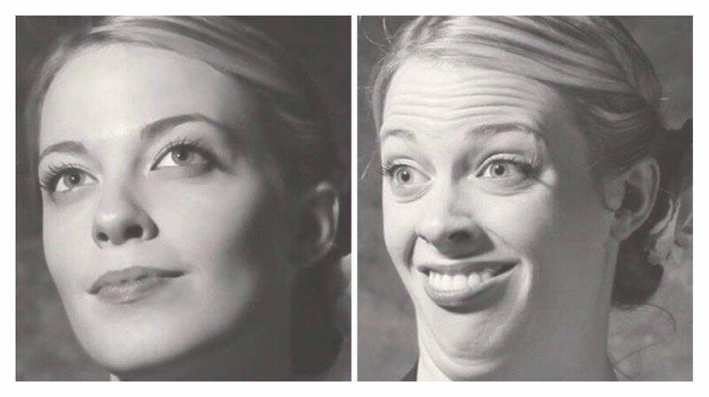 До и после: вот что гримаса животворящая делает!