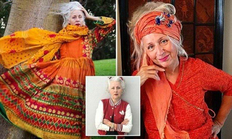 62-летняя австралийка стала моделью и звездой инстаграма