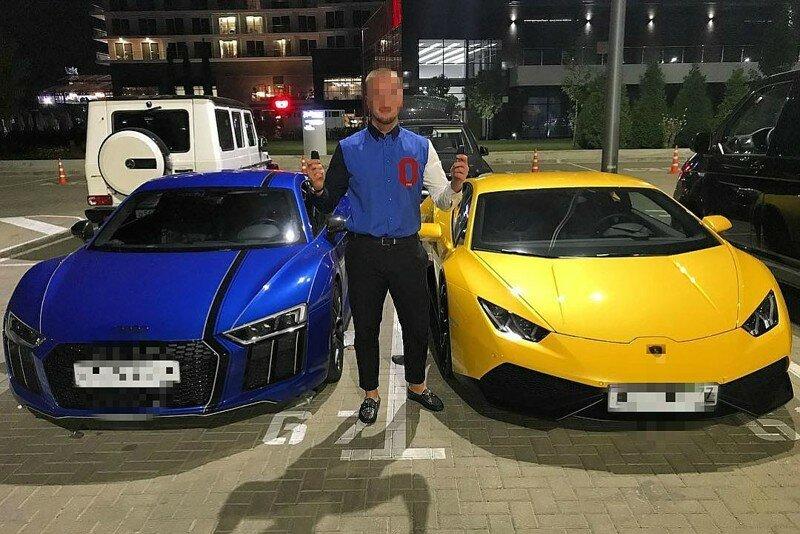 Московские мажоры устроили гонки на суперкарах в Сочи