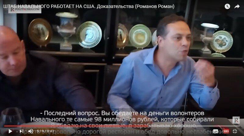 Штаб Навального работает на США. Доказательства (Романов Роман)