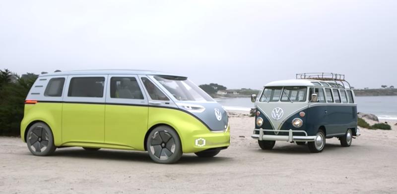 Легендарный микроавтобус Volkswagen возвращается, и он будет электрическим