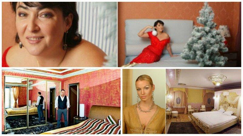 Как выглядят спальни знаменитых людей?