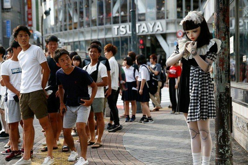 Лулу Хашимото, страшная реальная кукла Японии