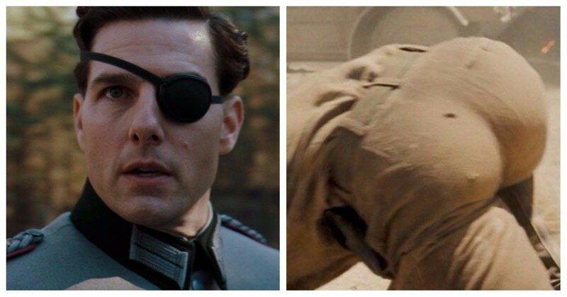 Появилась теория, что Том Круз использовал накладную задницу в фильме, и это смешно