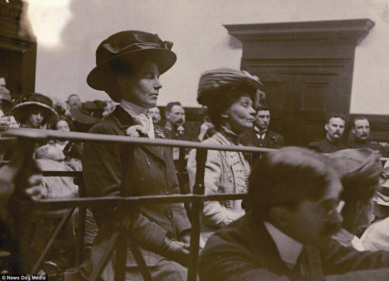 Женщины, которые добились права на голос: столетие победы