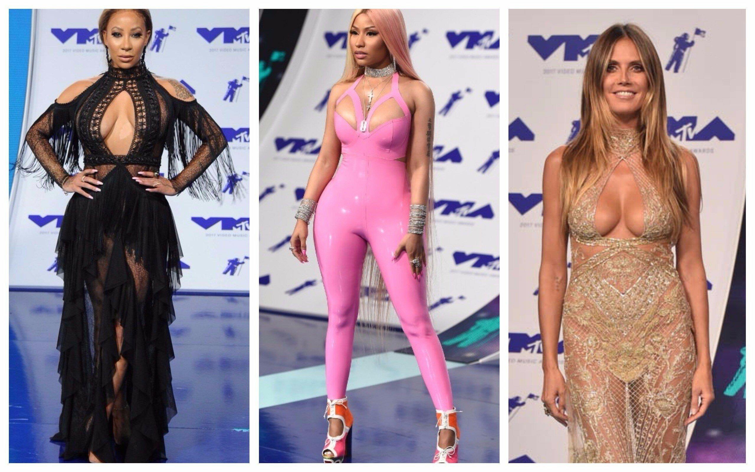Самые откровенные наряды знаменитостей на премии MTV-2017