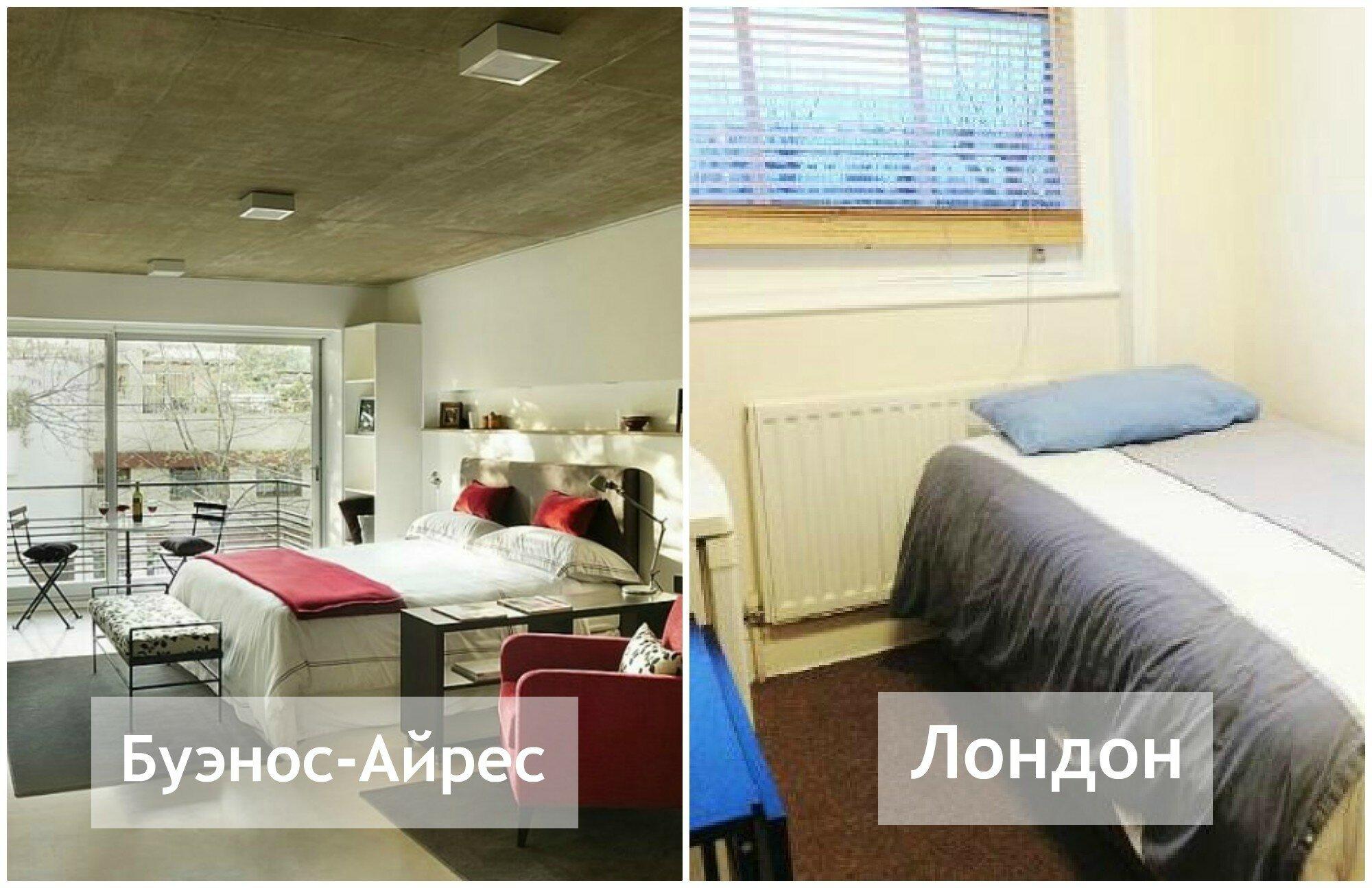Как в разных странах мира выглядит жилье за $1000 в месяц