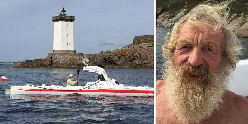 70-летний пенсионер успешно пересёк Атлантику на каяке — в третий раз
