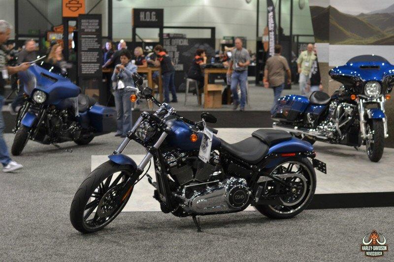 В Лос-Анджелесе представлен 2018 модельный год Harley-Davidson