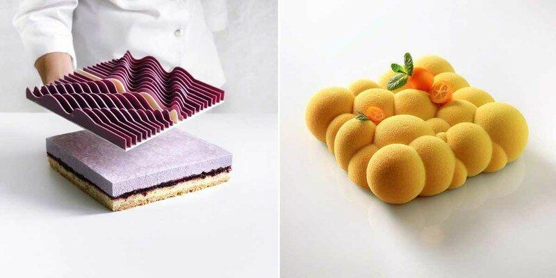 Новый математический дизайн десертов Динары Касько поражает воображение