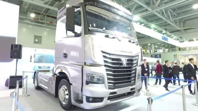 Новый КАМАЗ-54901 во всём его великолепии