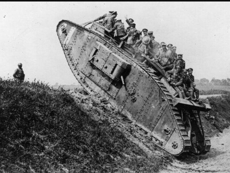 Mk. I - первый в мире танк