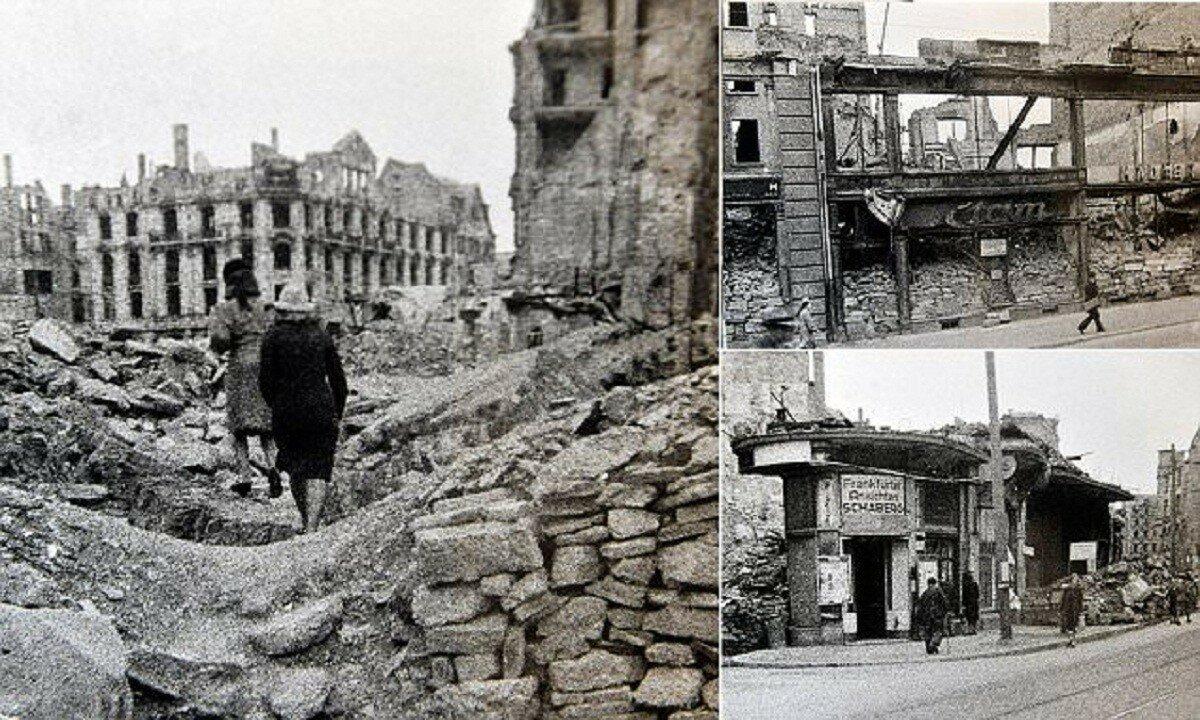 Опубликованы уникальные снимки разрушенной послевоенной Германии