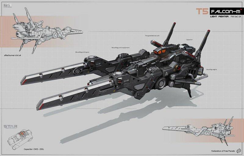 Алексей Пятов и его космические корабли