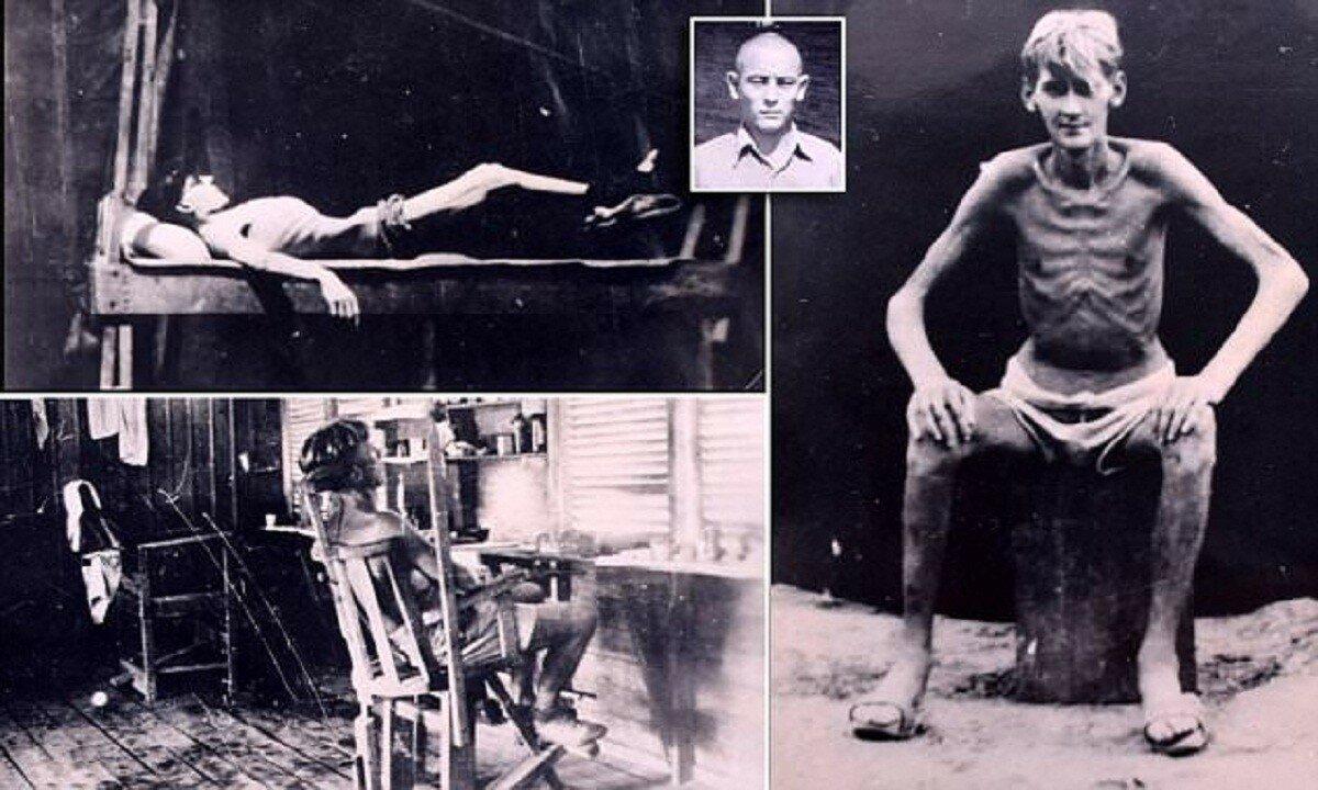 Британских пленных в Японии во время II мировой превращали в живые скелеты