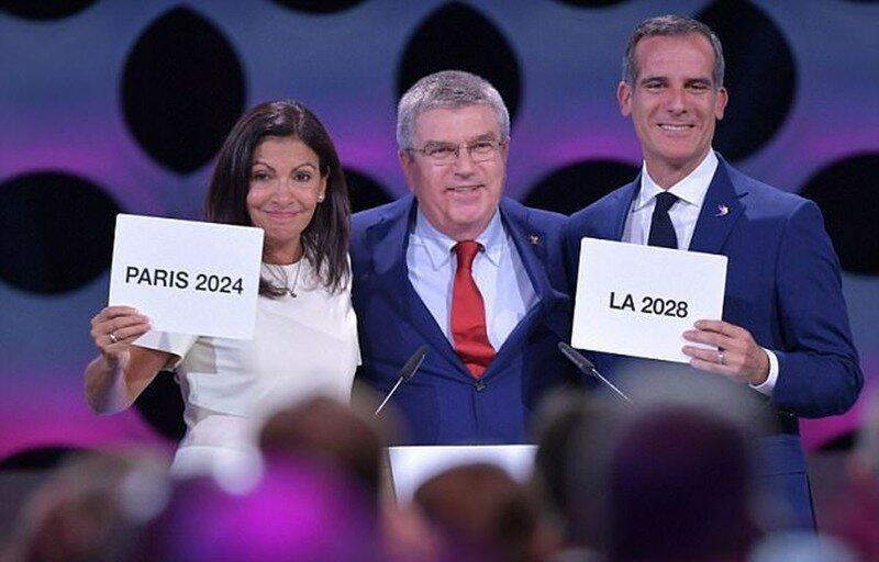 Объявлены места проведения Олимпийских игр 2024 и 2028 года