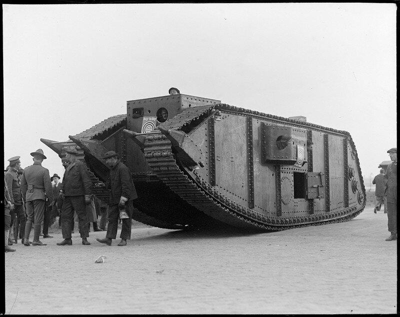 Паровые танки