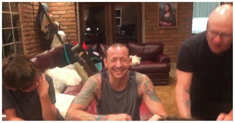 Так выглядела его депрессия за 36 часов до смерти: Вдова солиста Linkin Park опубликовала видео, снятое незадолго до самоубийства музыканта