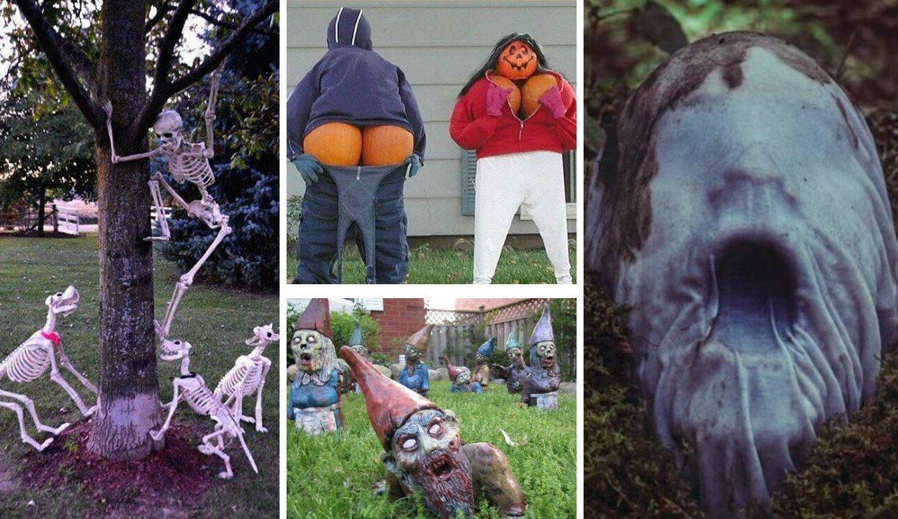 3 десятка идей уличного декора к Halloween