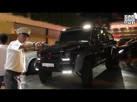 Джип арабского шейха выдворили из Монако из-за размеров
