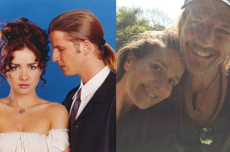 Звезды сериала «Дикий ангел» сделали совместное фото спустя 19 лет после окончания съемок