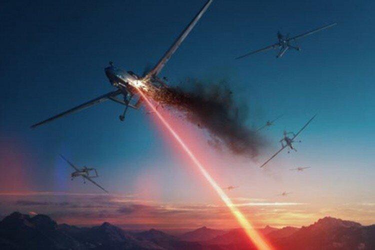 Видео дня: лазерное оружие Lockheed Martin сбивает дроны