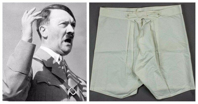 На аукционе купили старые трусы Гитлера за 5500 долларов США