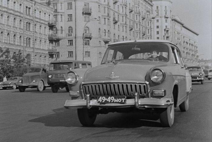 Места съемок фильма «Берегись автомобиля»