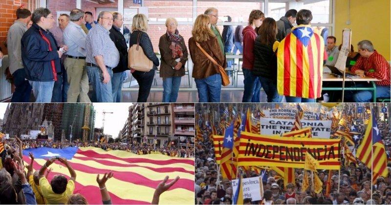 Под синей Эстеладой. Борьба Каталонии за независимость