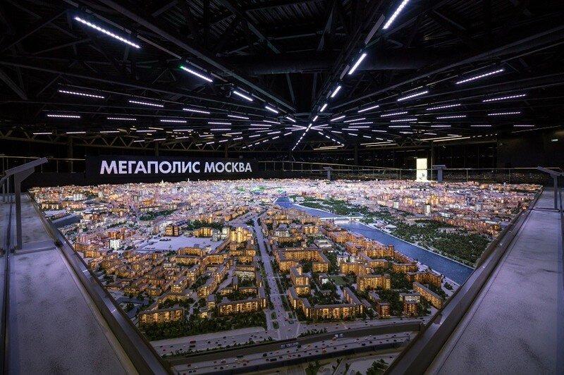 Макет Москвы открыт для посетителей ВДНХ