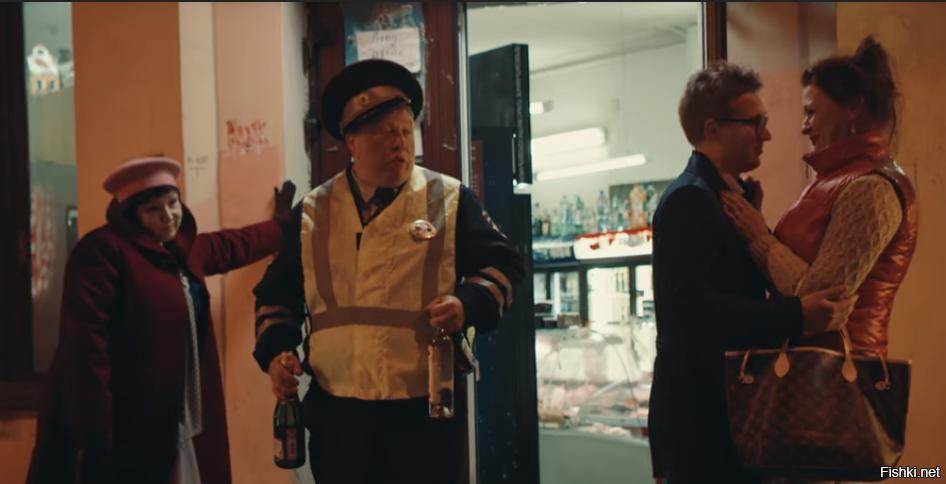 Я только сейчас заметил пасхалку (а может и флешбек) в клипах Ленинграда &quo...