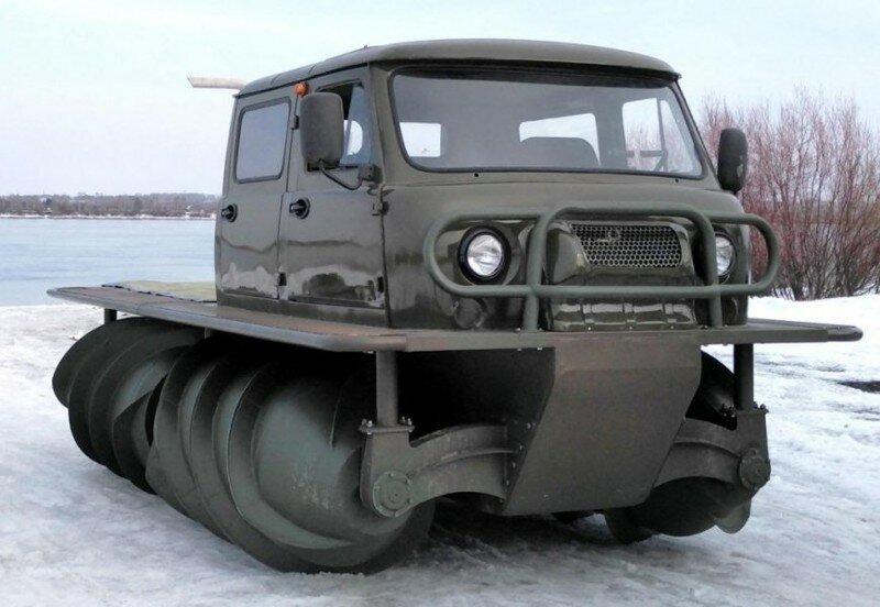 В России возобновили производство винтовых вездеходов ЗВМ-2901