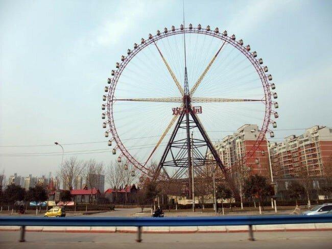Топ 10:Самое высокое колесо обозрения