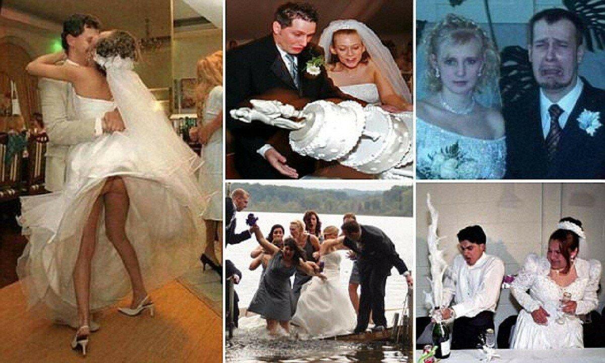 Порадуйтесь, что это не ваши свадебные фотографии!