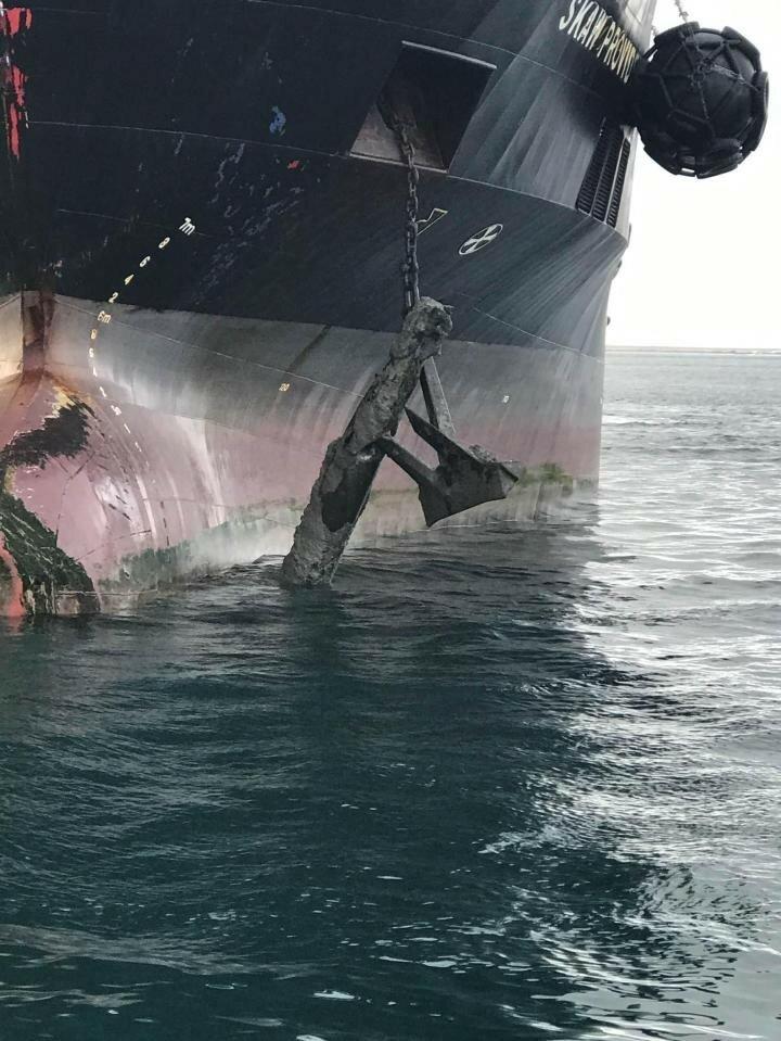 Подняли торпеду на якоре