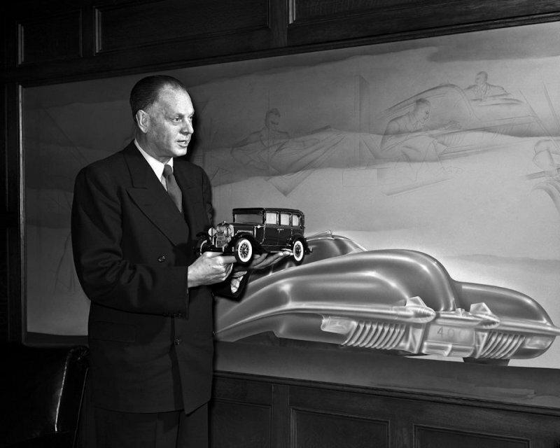 Харли Эрл - столп американского автодизайна