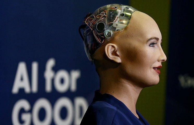 Робот София получила гражданство Саудовской Аравии