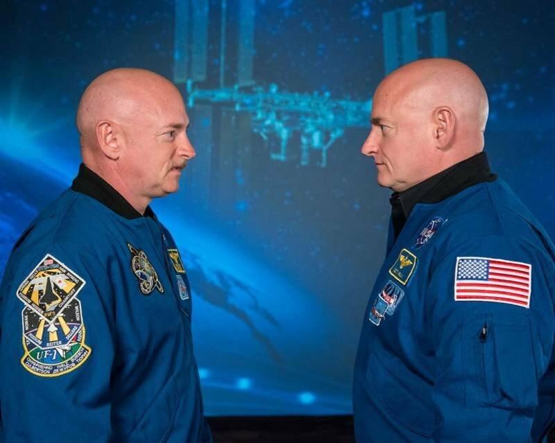 NASA отправило одного из братьев-близнецов в космос на год, и он вернулся другим
