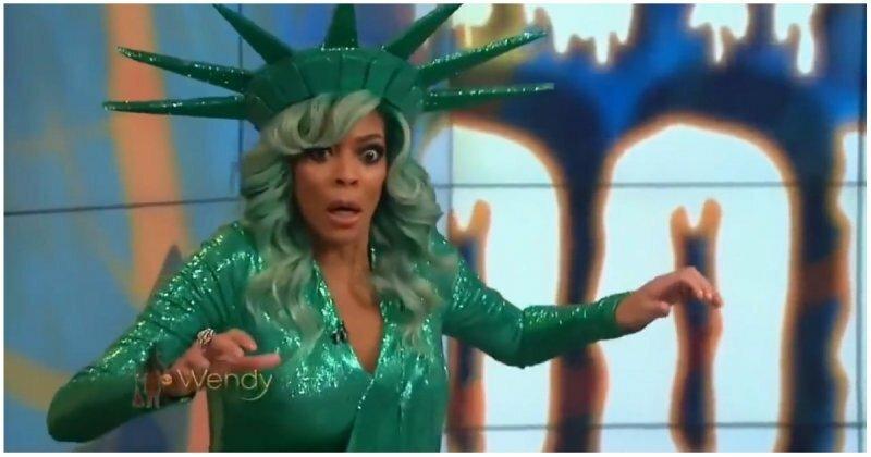 Американская телеведущая упала в обморок в прямом эфире