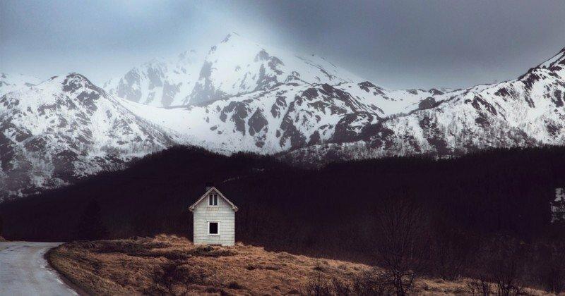 Заброшенные дома за полярным кругом