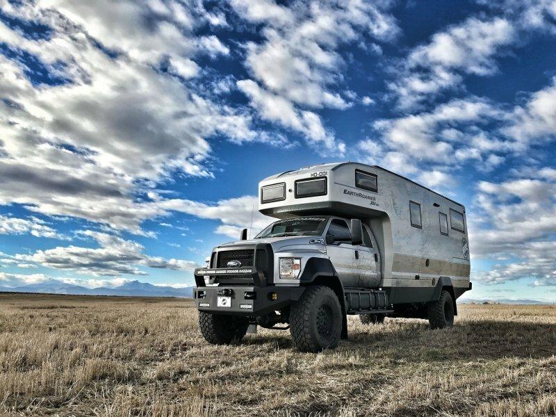 Полностью автономный дом на колесах, пригодный для любых экспедиций